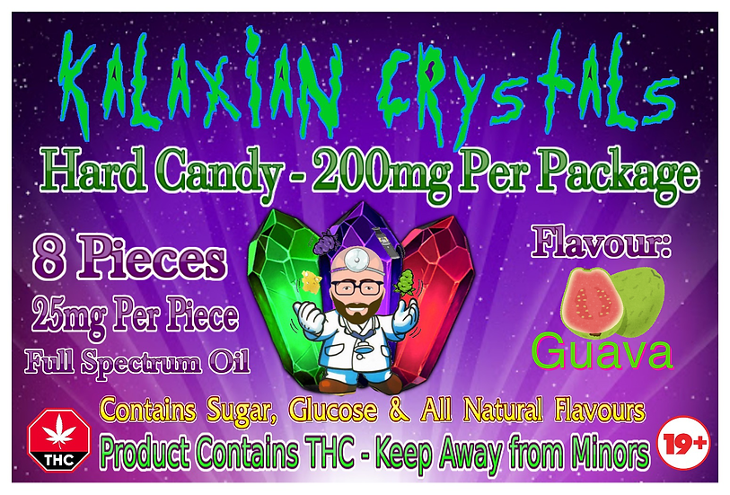Guava Kalaxian Crystals Hard Candy
