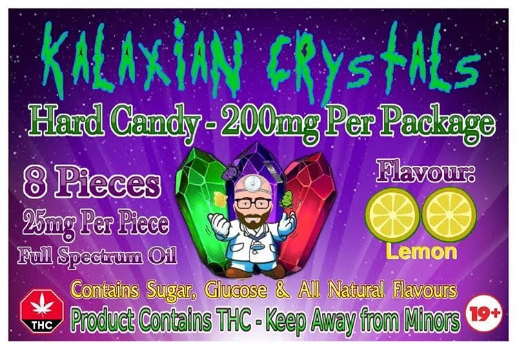 Lemon Kalaxian Crystals Hard Candy