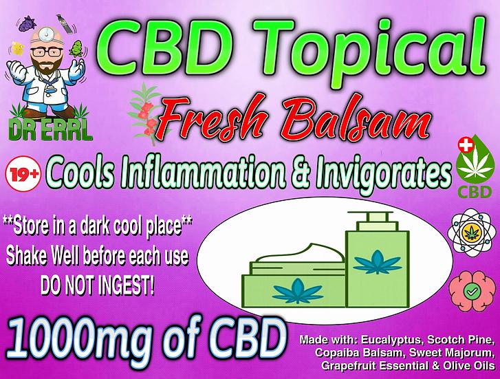 Fresh Balsam 1000mg CBD