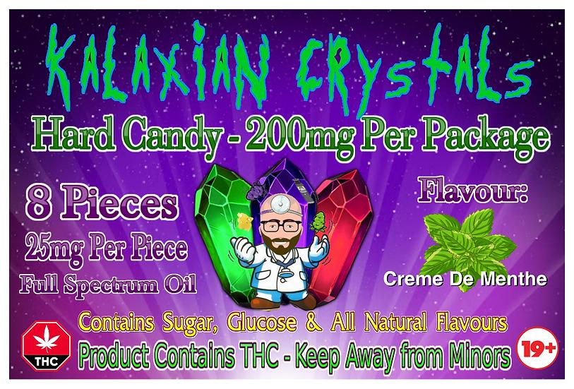 Creme De Menthe Kalaxian Crystals Hard Candy