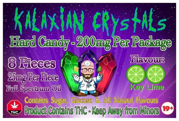 Key Lime Kalaxian Crystals Hard Candy