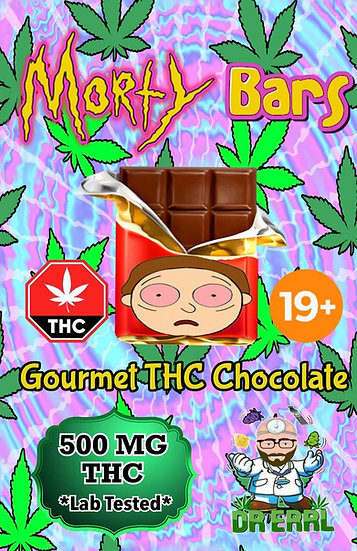 Morty Dark Chocolate Bar
