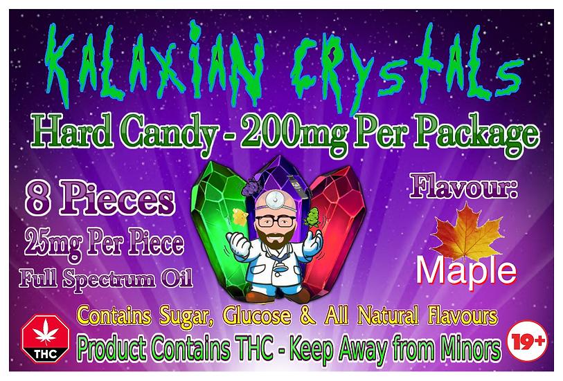 Maple Kalaxian Crystals Hard Candy