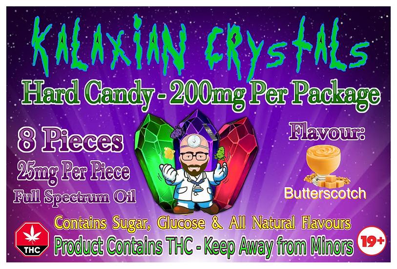 Butterscotch Kalaxian Crystals Hard Candy