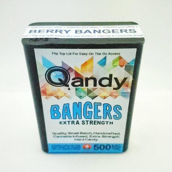 Qandy 500mg THC Berry Bangers