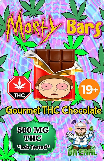 Morty Dark Chocolate Peppermint Bar