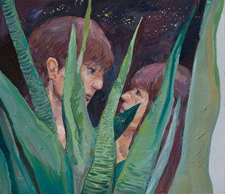 습관(History), 45.5 x 53cm, 캔버스에 유채 / Oil on Canvas, 2018
