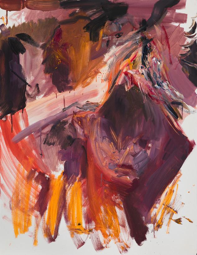 심야(深夜), 116.8x91cm, 캔버스에 유채 / Oil on Canvas, 2018