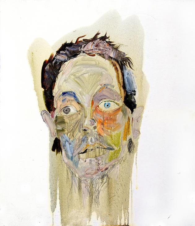 무제 / Untitiled, 45.5 x 37.9cm, 캔버스에 오일파스텔과 유채 / Oil and Oil Pastel on Canvas, 2011