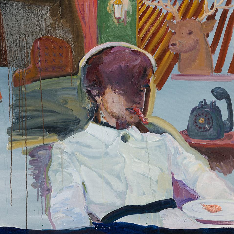 미완된 밤의 식사, 91 x 119.8cm, 캔버스에 유채 / Oil on Canvas, 2018