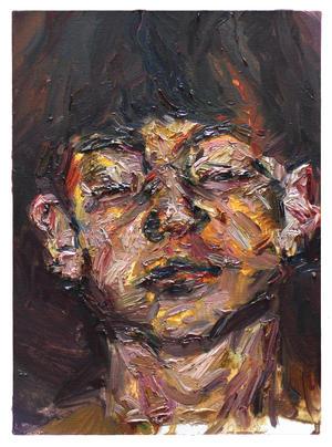 꽃샘바람 / A Chill Breeze, 33.4 x 24.2cm, 캔버스에 유채 / Oil on Canvas, 2015