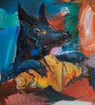 뽀개, 53x45.5cm,  Oil on Canvas, 2019