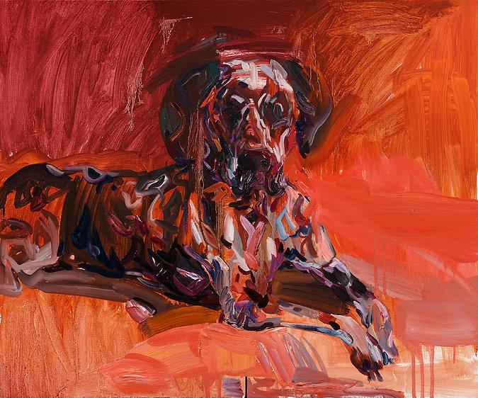 백열 /Red Light, 2020, Oil on Linen Canvas