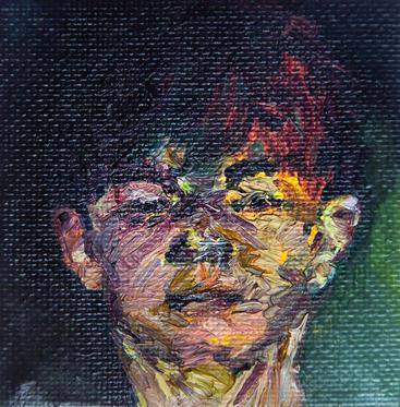 무제 / Untitled, 8 x 8cm, 캔버스에 유채 / Oil on Canvas, 2015