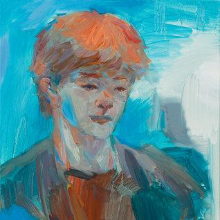 여섯 시 / 6 O'clock-ish , 53×45.5cm, 캔버스에 유채 / Oil on Canvas, 2018