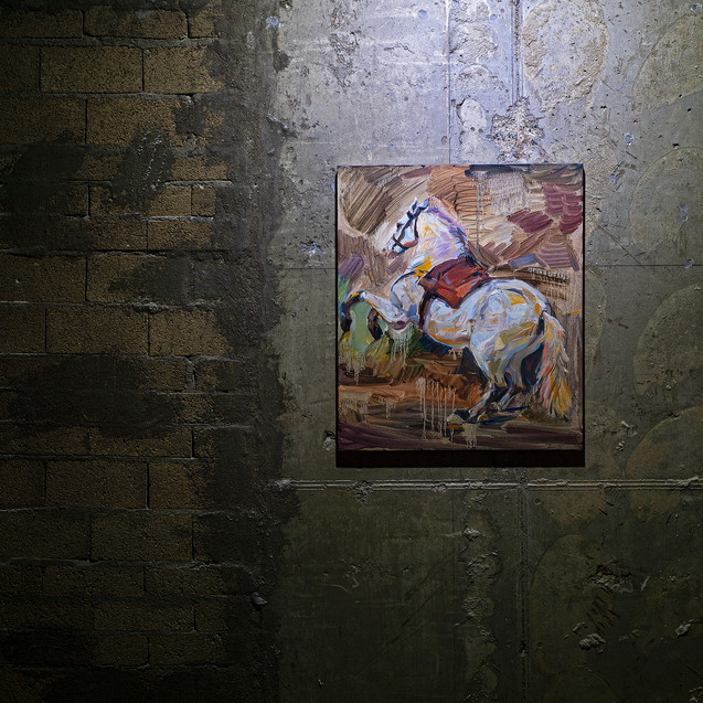 08_출격_(After A White Horse by Velasquez)