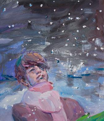 눈겨울, 53 x 45.5cm, 캔버스에 유채 / Oil on Canvas, 2018