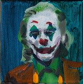 조커 Joker 캔버스에 유채 10x10cm 2019