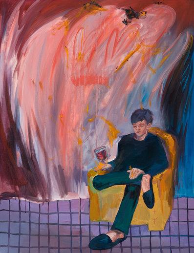 벽장 밖으로 나온 벽장괴물, 116.8 x 91cm, 캔버스에 유채 / Oil on Canvas, 2018