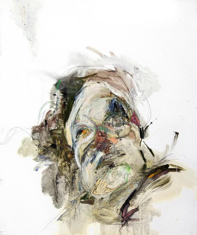 무제 / Untitiled, 45.5 x 37cm, 캔버스에 오일파스텔과 유채 / Oil and Oil Pastel on Canvas, 2011