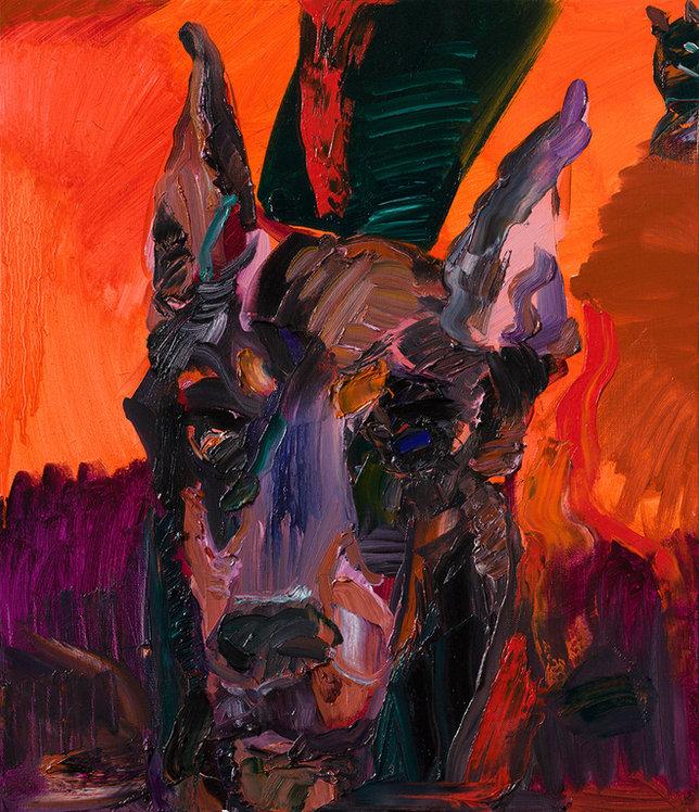 26(twenty-six), 53x45.5cm, Oil on Canvas, 2018