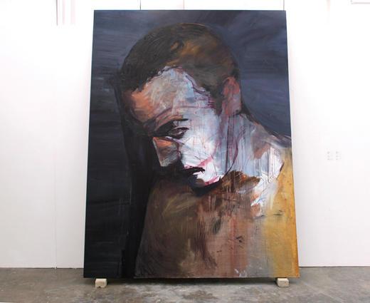 소용돌이 / A whirlpool, 259.1 x 193.9cm, 캔버스에 유채 / Oil on Canvas, 2014