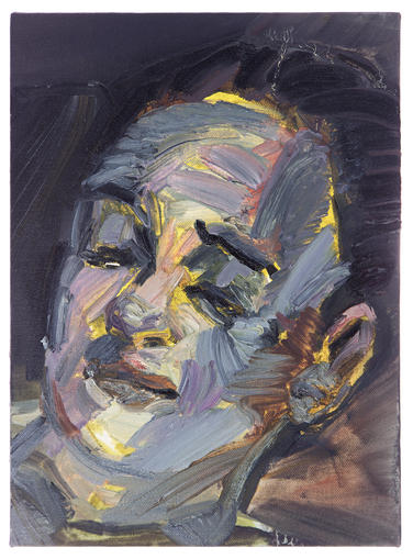 소용돌이 / A whirlpool, 33.4 x 24.2cm, 캔버스에 유채 / Oil on Canvas, 2014