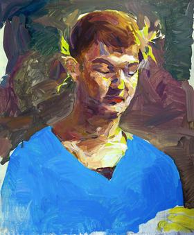 무제 / Untitled, 72.7 x 60.6cm, 캔버스에 유채 / Oil on Canvas, 2015