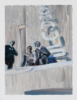Bauhaus, Oil on Linen Canvas 40.9×31.8cm, 2019