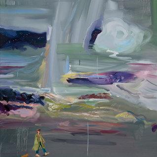 밤걸음(서막), 90.9 x 72.7cm, 캔버스에 유채 / Oil on Canvas, 2018