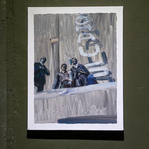 11_Bauhaus, 캔버스에 유채, 40.8x31.9cm, 2019_2