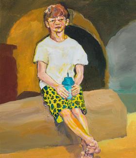 중학생과 찜질방의 식혜, 53 x 45.5cm, 캔버스에 유채 / Oil on Canvas, 2018