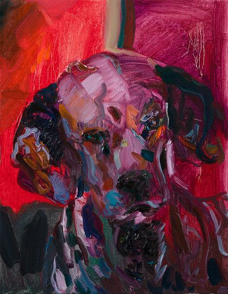 하데스의 개, 캔버스에 유채, 40.9×31.8cm, 2019