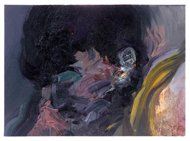 소용돌이 / A whirlpool, 24.2 x 33.4cm, 캔버스에 유채 / Oil on Canvas, 2014