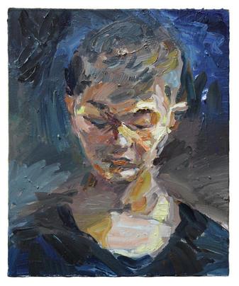 문득 / Suddenly, 45.5 x 37.9 cm, 캔버스에 유채 / Oil on Canvas, 2015