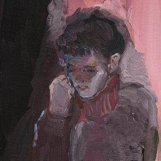 수줍음,  29.7×21cm, 캔버스에 유채 / Oil on Canvas, 2018