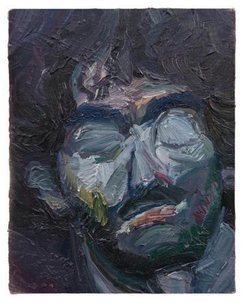 소용돌이 / A whirlpool, 27.3 x 22cm, 캔버스에 유채 / Oil on Canvas, 2014