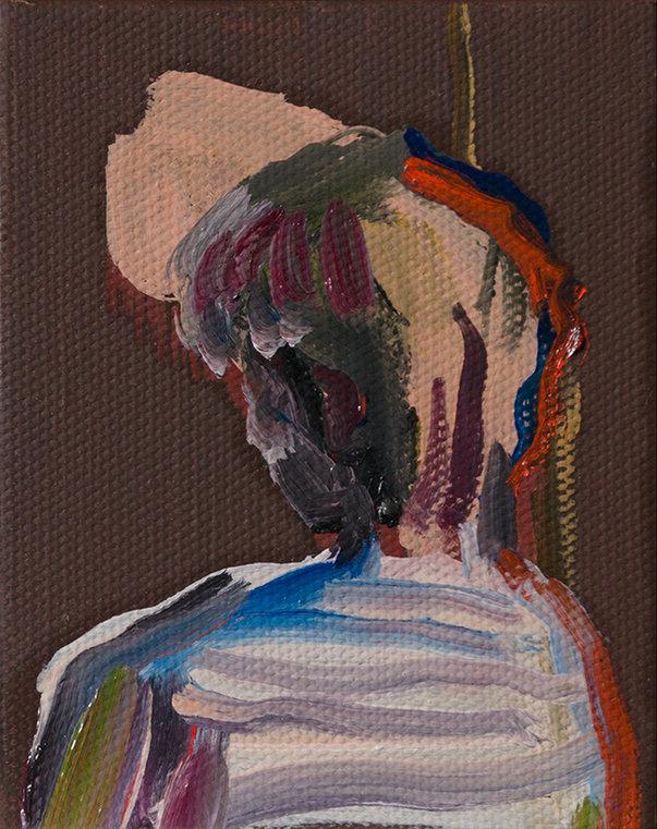 녹는점(Melting), 10x8 cm, 캔버스에 유채 / Oil on Canvas, 2018