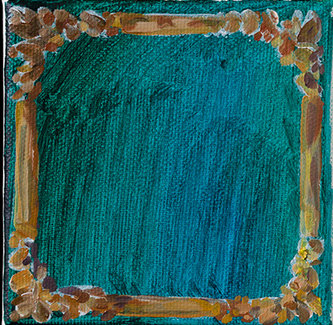 프레임, 캔버스에 유채, 10x10cm, 2019