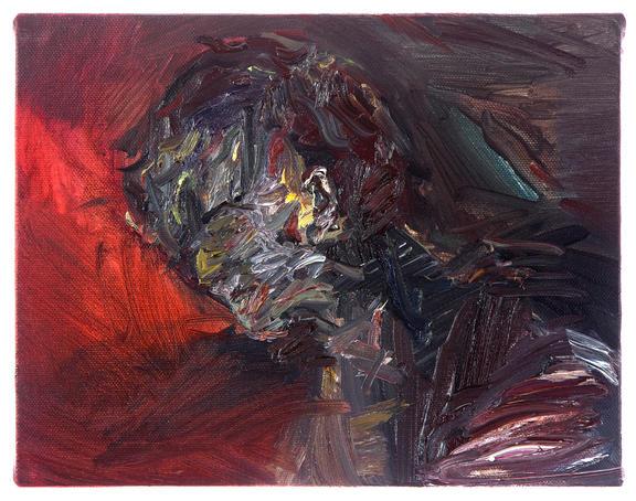 소용돌이 / A whirlpool, 17.9 x 25.8cm, 캔버스에 유채 / Oil on Canvas, 2014