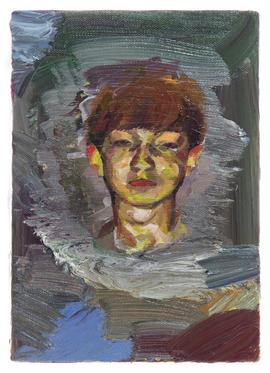 다이아몬드 / The Diamond Boy, 22.7 x 15.8cm, 캔버스에 유채 / Oil on Canvas, 2015