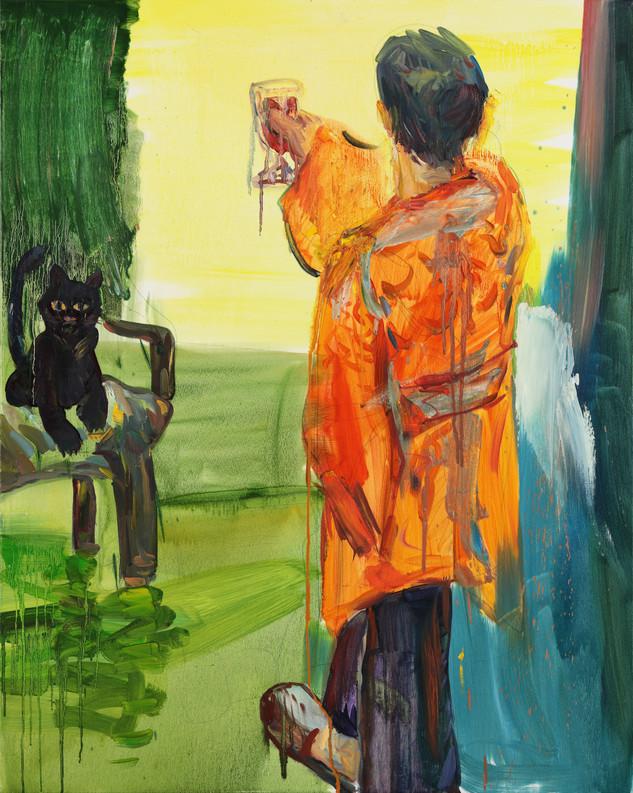 사로잡힌 달빛, 캔버스에 유채, Oil on Canvas, 90.9 x 72.7cm , 2018