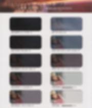 IKCフィルム,サンプルフィルム,スモーク,可視光線,紫外線カット