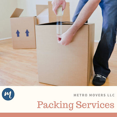 Packing Services Birmingham