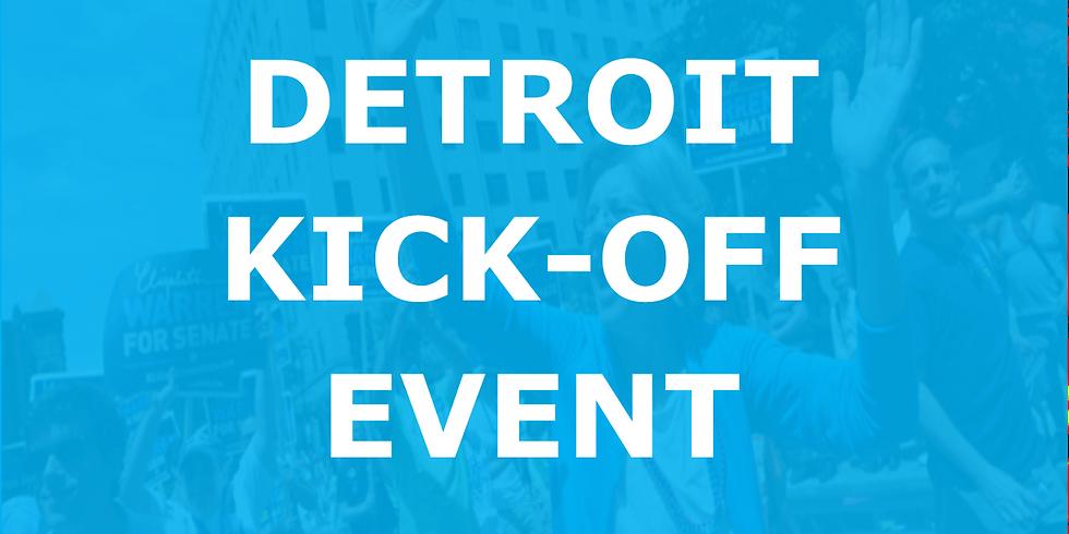 Michigan For Warren Kick-Off Event in Detroit