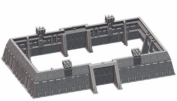 Festung Modulare Wände