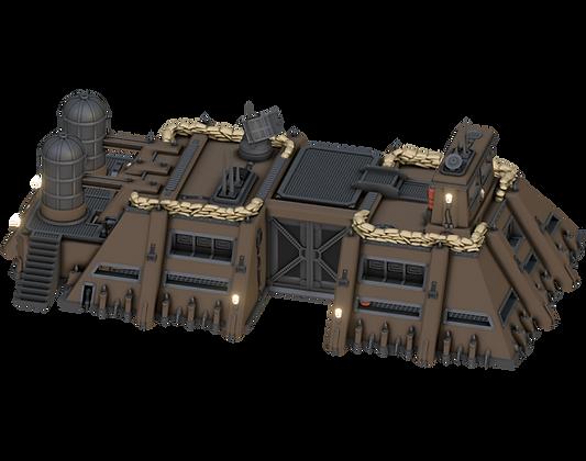 Grimdark Vehicle HQfrom Grimdark Stronghold byWar Scenery