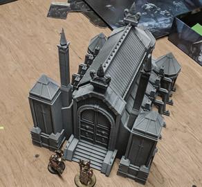 Kriegslandschaft Gedruckte STL-Modelle Shop Cath