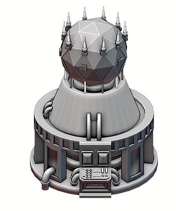 Stronghold Shield Generator War Scenery