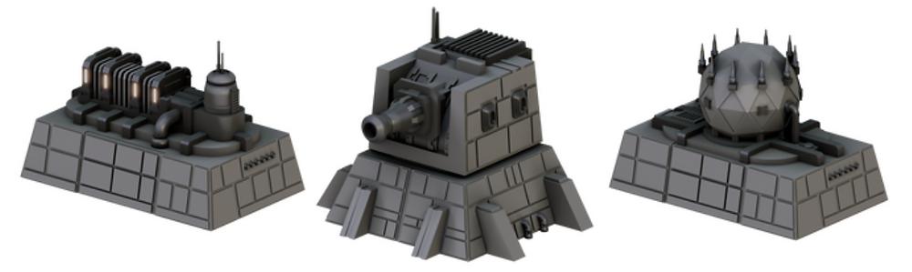 3D printable Space Station Generators